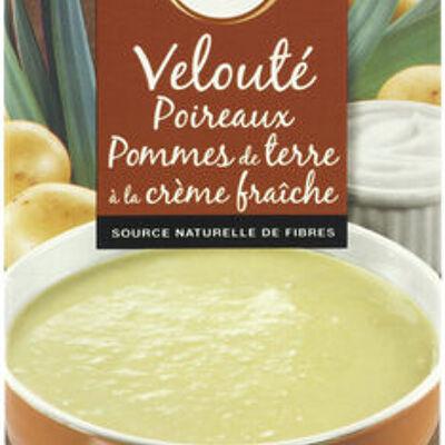 Velouté poireaux et pommes de terre (U)