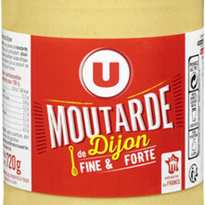 Moutarde forte de dijon (U)