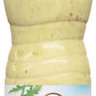 Vinaigrette allégée en matières grasses à la moutarde à l'ancienne (U)