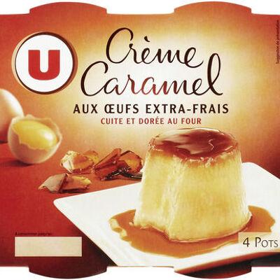 Crème caramel (U)