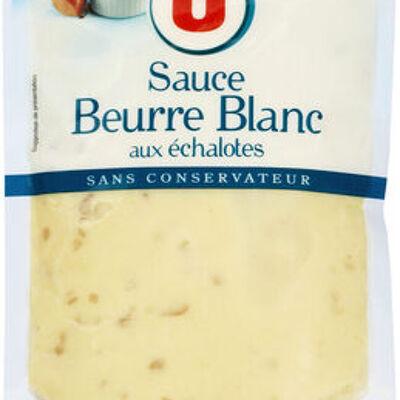Sauce beurre blanc échalote (U)