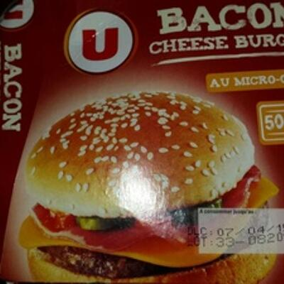 Bacon cheese burger (U)