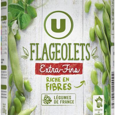 Flageolets verts extra-fins (U)