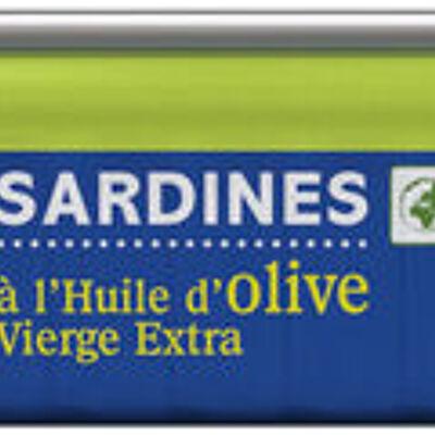 Sardine à l'huile d'olive vierge extra (U)