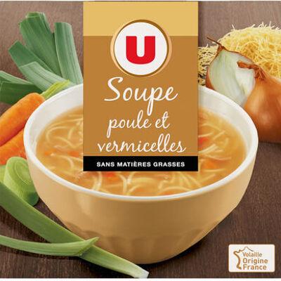 Soupe poule et vermicelles (U)