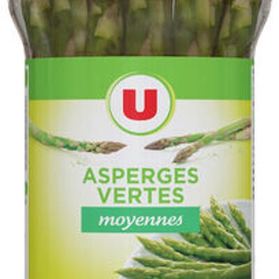 Asperges vertes moyennes (U)