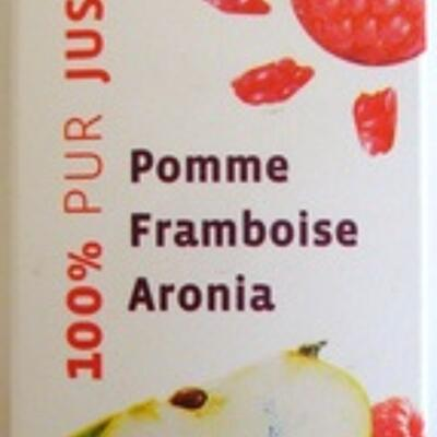 100% pur jus pomme framboise aronia (U)