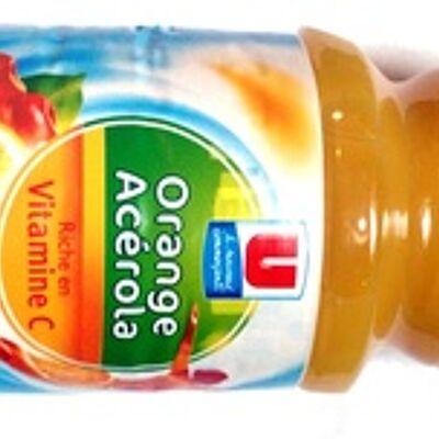 Orange, acérola (U)