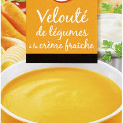 Velouté de légumes à la crème (U)