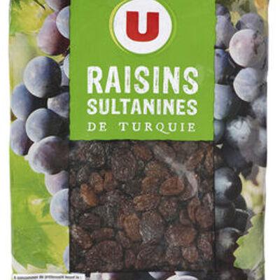 Raisins sultanine, calibre 235/265 (U)