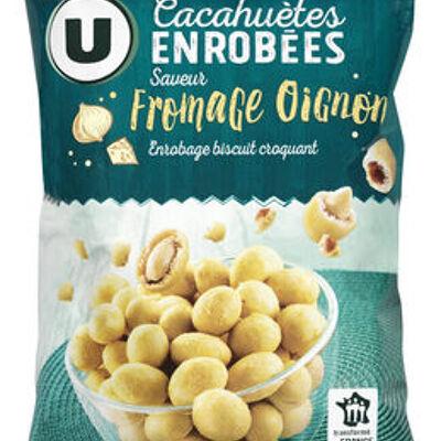 Cacahuètes enrobées goût fromage oignon (U)