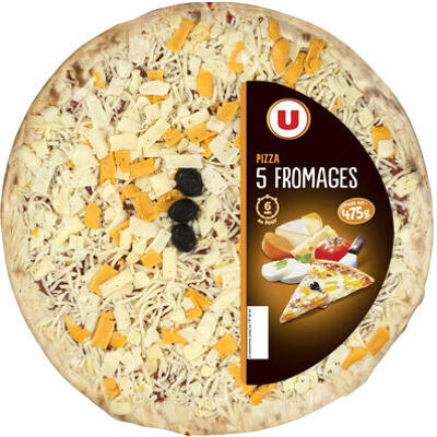 Pizza aux 5 fromages (U)