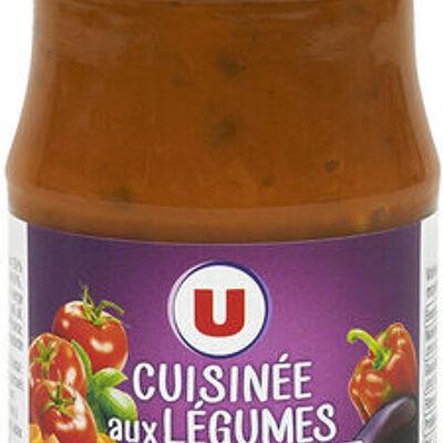 Sauce cuisinée aux légumes (U)