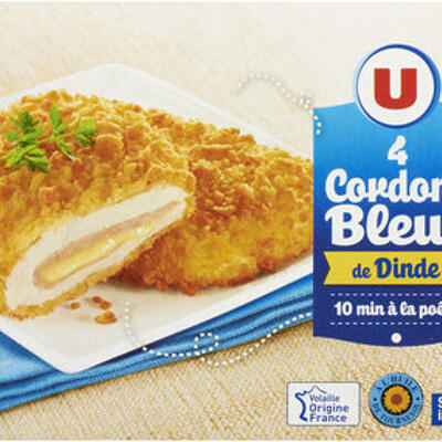 Cordon bleu de dinde (U)