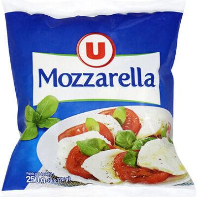 Mozzarella au lait pasteurisé 17%mg (U)