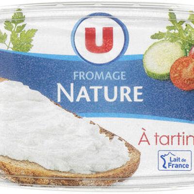 Fromage nature au lait pasteurisé 21,5%mg (U)