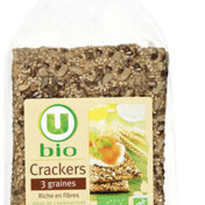 Crackers 3 graines (U bio)