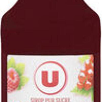 Sirop de framboise-groseille (U)