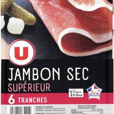 Jambon sec supérieur (U)