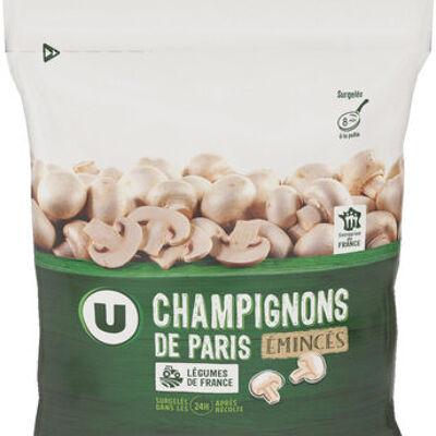 Champignons de paris émincés (U)