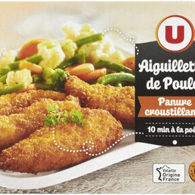 Aiguillette de poulet panure croustillante (U)