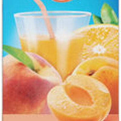 Fraîcheur de fruits orange pêche abricot (U)