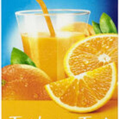 Jus fraîcheur de fruits orange riche en fruits (U)