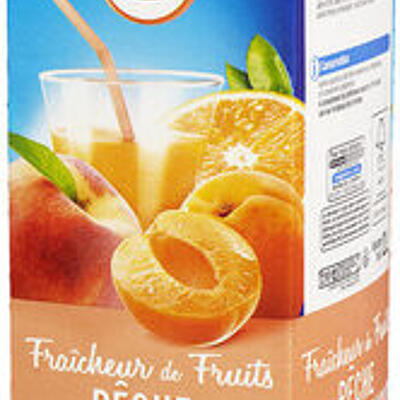 Fraîcheur de fruits orange pêche et abricot riche en fruits (U)
