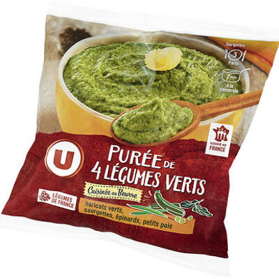 Purée 4 légumes verts cuisinée (U)