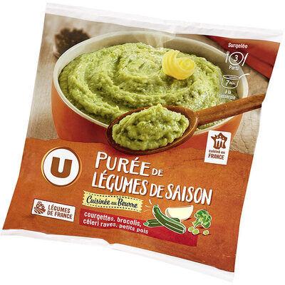 Purée de légumes de saison cuisinée (U)