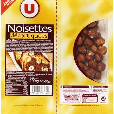Noisette décortiquée (U)
