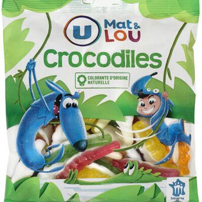 Gélifiés crocodile (U mat & lou)