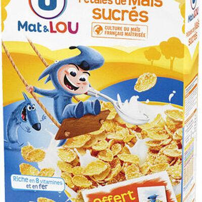 Pétales de maïs glacés au sucre (U mat & lou)