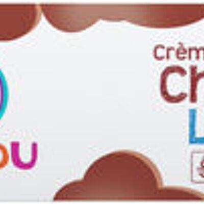 Crème dessert bi-goût chocolat et lait (U mat & lou)