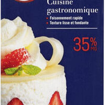 Crème uht entière liquide 35% de mg (U)