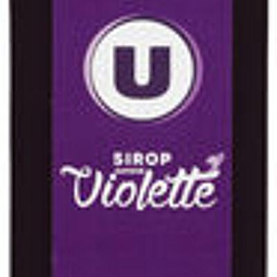 Sirop saveur violette (U)