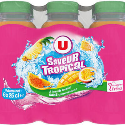 Boisson aux fruits tropical (U)