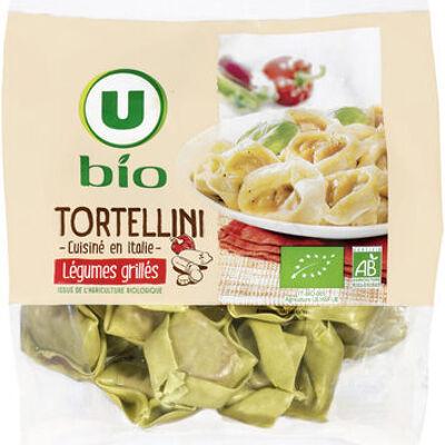 Tortellini aux légumes grillés bio (U bio)
