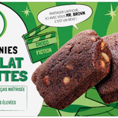 Mini brownie noisette et pépites de chocolat (U)