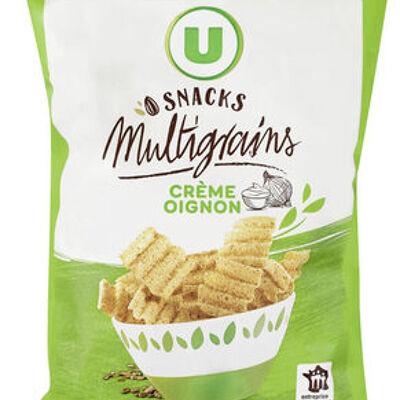 Snacks multigrains crème oignon (U)