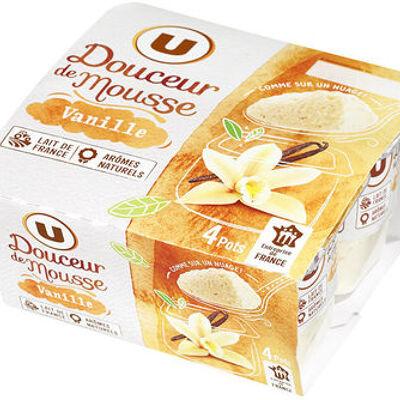 Spécialité laitière sucrée à la vanille, (U)
