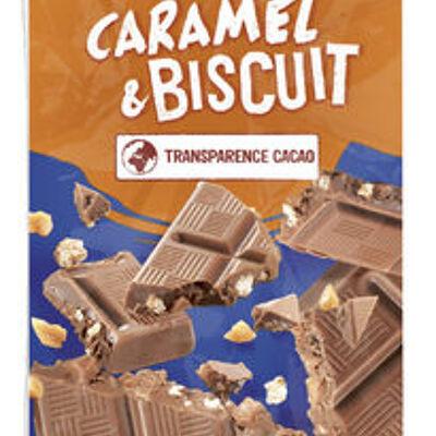 Chocolat lait caramel & biscuit (U)