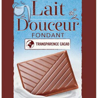 Chocolat au lait dégustation douceur (U)