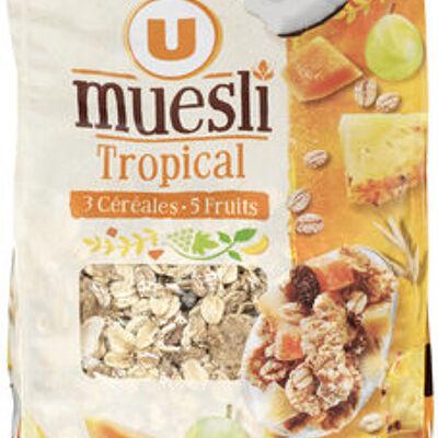 Muesli tropical (U)