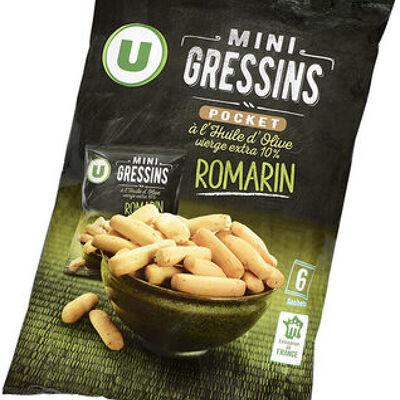 Mini gressins romarin (U)