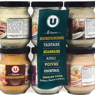 Sauces sixtettes (U)