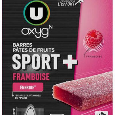 Pâtes de fruits sport+framboise (U oxygn)