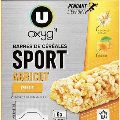 Barres de céréales aux abricots (U oxygn)