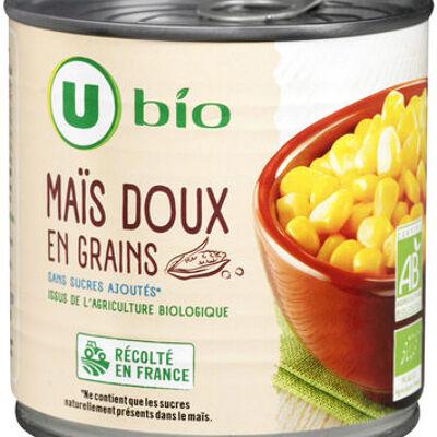 Maïs doux en grains (U bio)