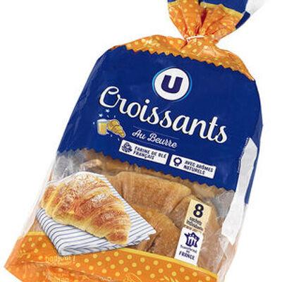 Croissants au beurre (U)